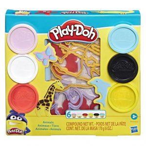 Massinha Play Doh Animais 170grs E8535