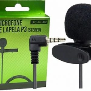Microfone De Lapela Mxt Xc L01 Para Celulares Smartphones P3