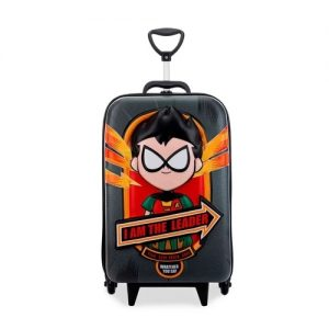 Mochila C/ Rodinhas Teen Titans Robin 2952BM20 Maxtoy