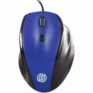 Mouse Hoopson Gamer Usb 2.0 com Fio 1600DPI Azul