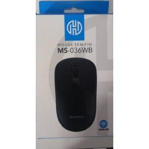 MOUSE HOOPSON USB SEM FIO 10MTS ALCANCE 1200DPI PRETO MS036WB