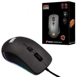 MOUSE OEX GAME CRONOS 7200DPI 5 BOTOES USB PRETO MS320