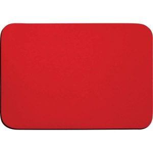Mouse PAD Tecido Vermelho Emborrachado 23x16cm - Reflex