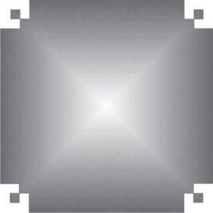 Papel Color Set Especial 48 x 66cm Prata - VMP c/ 20 Folhas