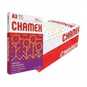 Papel Sulfite A3 Branco Chamex Caixa C/ 2500 Folhas
