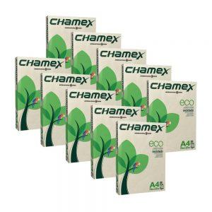 PAPEL SULFITE A4 CHAMEX RECICLADO 75GRS 500FLS