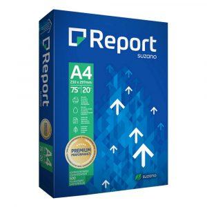PAPEL SULFITE A4 REPORT PREMIUM BRANCO 75GRS 500FLS