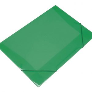 PASTA ABA ELASTICA PLASTICA DAC MINI VERDE 500PPVD