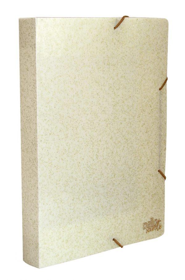 Pasta Aba Elástico Dello Ofício Lombo de 4cm Secrets Sortido 0276S