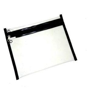 Pasta Malote Horizontal Transparente 30x22cm - Reflex