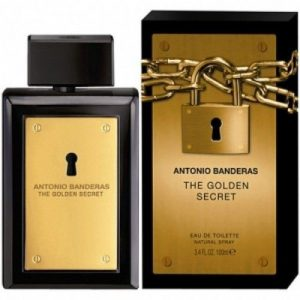 PERFUME ANTONIO BANDERAS THE SECRET GOLDEN 100ML MASCULINO