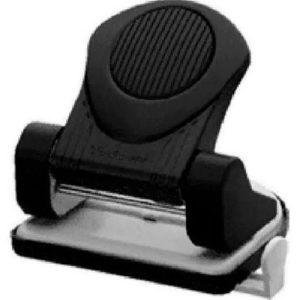 Perfurador de Papel Munix Metal 20 Folhas Preto PERFO20 20039