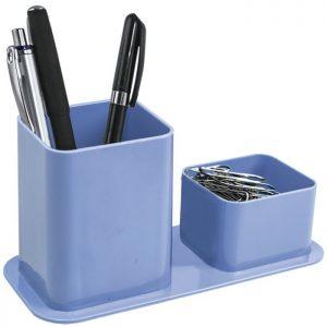 Porta Canetas e Clips Dello Azul