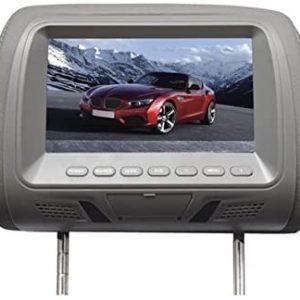 "RADIO ENCOSTO DE CABECA DAZZ MAXPRINT 7"" MULTIMIDIA USB CARTAO FONE OUVIDO DZ52125"
