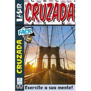Revista Laser Palavras Cruzada - 386 Fácil