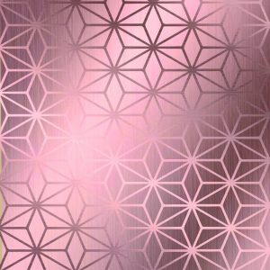 SACO PRESENTE STAR ROSE GOLD 45X59 CROMUS PCT25 99005771