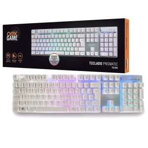 TECLADO OEX USB GAME BACKLIGTH PRISMATIC TC205