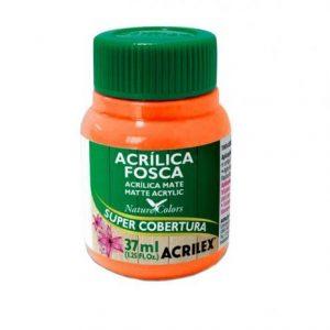TINTA ACRILICA FOSCA ACRILEX LARANJA 37ML 517