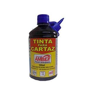 TINTA CARTAZ RADEX AZUL 500ML 199