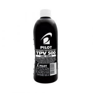 TINTA ESPECIAL PLASTICO E VINIL PILOT TPV500 PRETO 500ML