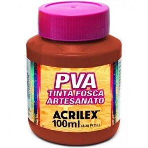 Tinta Fosca para Artesanato Acrilex Vermelho Escarlate 100ml