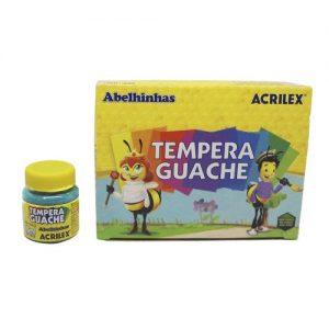 TINTA GUACHE ACRILEX 15ML VERDE BANDEIRA 511 CX12
