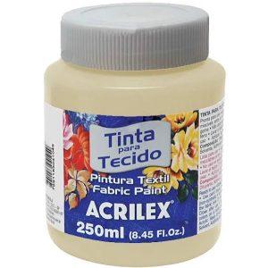 Tinta para Tecido Acrilex Areia 817 250ml 04125
