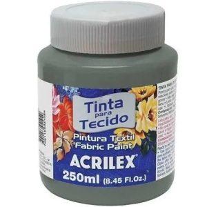 Tinta para Tecido Acrilex Cinza 933 250ml 04125