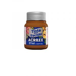 Tinta para Tecido Acrilex Fosca Chocolate 814 37ml 04140
