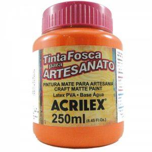TINTA PVA ACRILEX LARANJA 250ML 517
