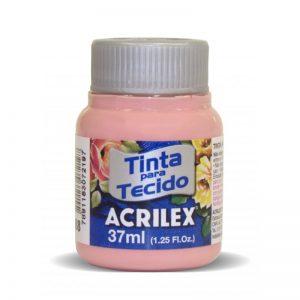 TINTA TECIDO ACRILEX ROSE 04140 37ML