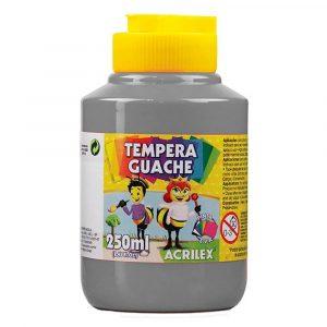 Tinta Têmpera Guache Acrilex 250ml Cinza 933