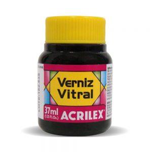 TINTA VERNIZ VITRAL ACRILEX ROSA 537 37ML
