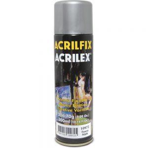 VERNIZ SPRAY ACRILEX ACRILFIX FOSCO 300ML 10972