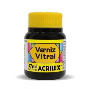 Verniz Vitral Acrilex Amarelo Ouro 37ml